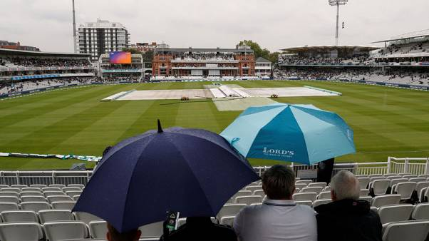 Cricket - Rain delays start of second test at Lord's