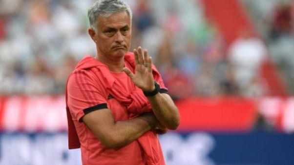 Mourinho: mercato terminé pour Manchester United