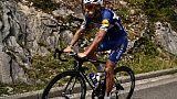Cyclisme: Philippe Gilbert, blessé lors du Tour, a repris l'entraînement