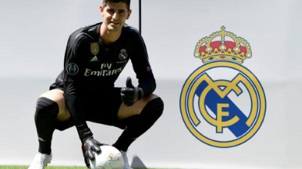"""Transfert: Courtois a réalisé """"un rêve"""" en signant pour le Real Madrid"""