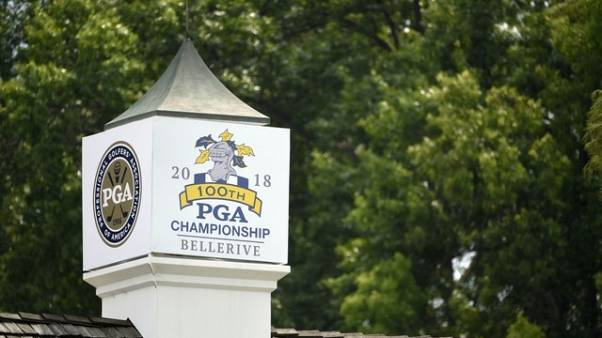 Golf - PGA Championship start under attack from hackers, report