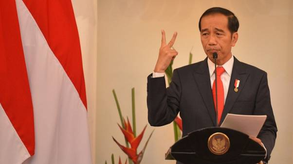 Indonesia president picks top cleric as running mate in 2019 election
