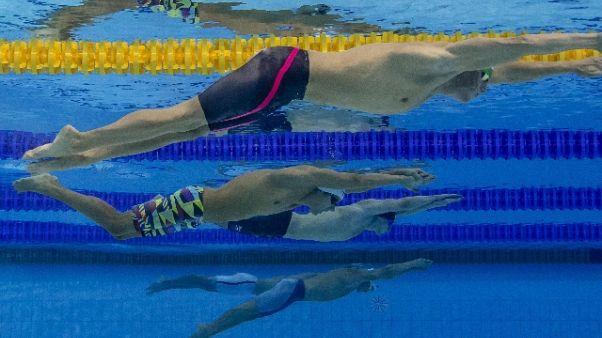 Europei nuoto:oro Codia nei 100 farfalla