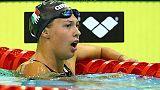 Europei nuoto: bronzo Castiglioni 50rana