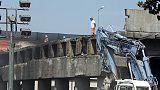 Ponte sull'A14 ricostruito in due mesi