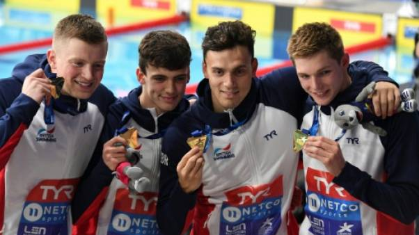 Euro de natation: la Grande-Bretagne, puissance trois