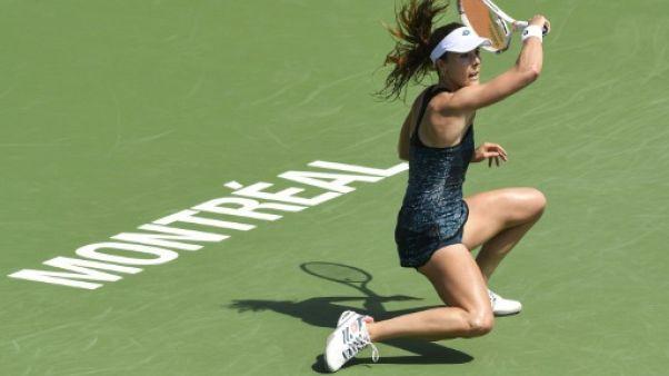 Tennis: fin de parcours pour Cornet à Montréal