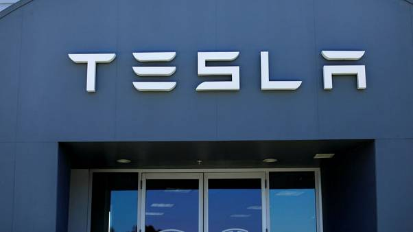 Tesla shares fall 5 percent on Wall St scepticism, SEC probe reports