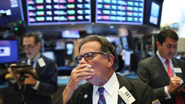 المؤشران ستاندرد آند بورز وداو جونز في بورصة وول ستريت يتراجعان بفعل خسائر لأسهم الطاقة