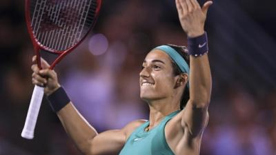 Tennis: Garcia s'affirme, Wozniacki trébuche à Montréal