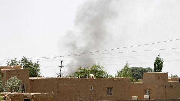 Taliban fighters storm Afghanistan's Ghazni