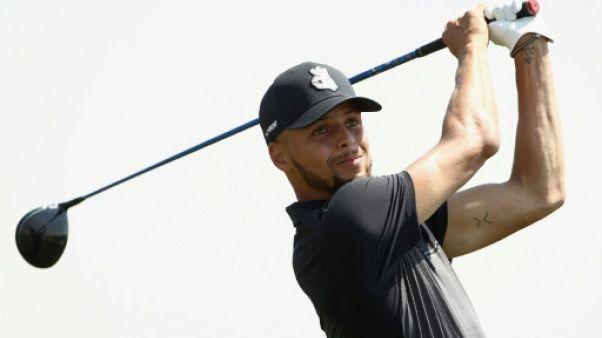 Basket golf: Stephen Curry, habile sur les greens comme sur les parquets