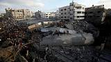 Gaza ceasefire holds after two-day flare-up, protests expected