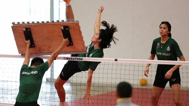 Asian Games - Thailand teams look to continue sepaktakraw dominance