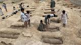 Coalition announces Yemen air raid probe, Houthis report 40 children killed
