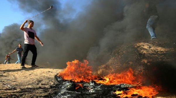 Gaza: un secouriste palestinien tué par des tirs israéliens, mais la trêve semble tenir