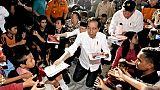 Indonésie : le président candidat à sa réélection, le même adversaire qu'en 2014