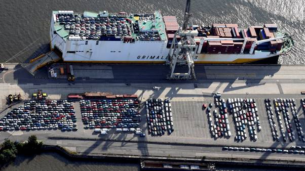 Tariffs and sanctions turmoil may overshadow EU, German growth data