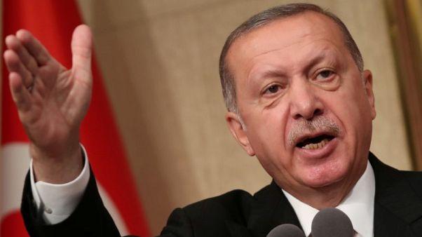 تلفزيون: أردوغان يقول تركيا لن تخسر حربا اقتصادية