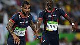 Athlétisme: le relais masculin 4x400 m qualifié pour la finale