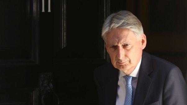 Brexit uncertainty is depressing UK growth - Hammond