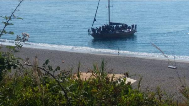 Sbarco migranti nel reggino, arrivati 72