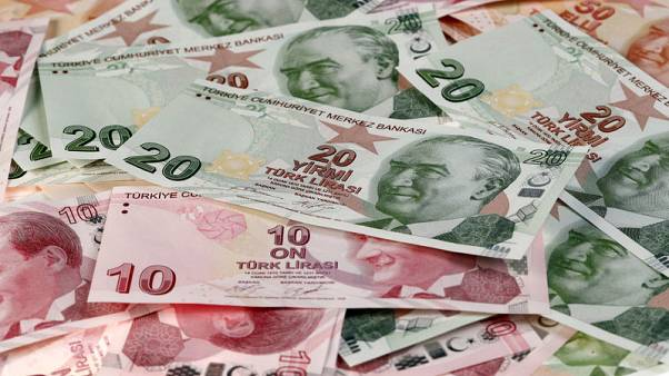 Euro zone banks hammered for Turkish exposure