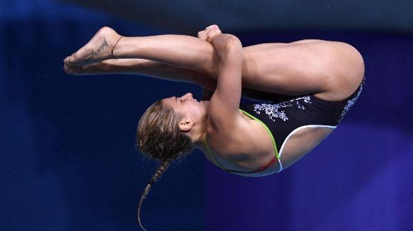 Tuffi: Bertocchi bronzo trampolino 1m