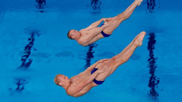 Diving - Zakharov and Kuznetsov win 3m synchro with fine last dive