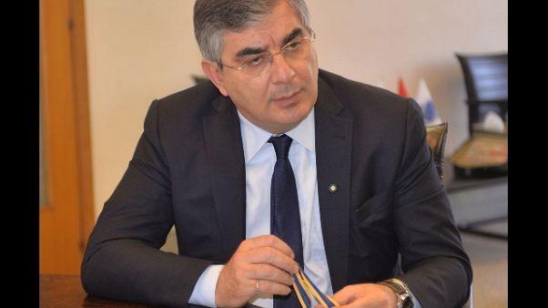 Gasparri, D'Alfonso lascia presidenza