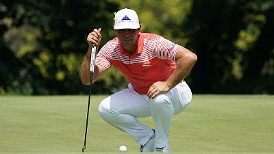 Woodland leads as Koepka, Schwartzel match PGA record with 63