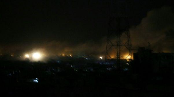 """Syrie: tirs de la défense anti-aérienne vers une """"cible ennemie"""""""