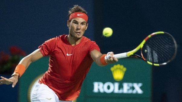 Atp Toronto, Nadal in semifinale