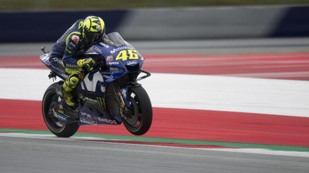 Moto: Austria, Rossi solo quarto in Q1