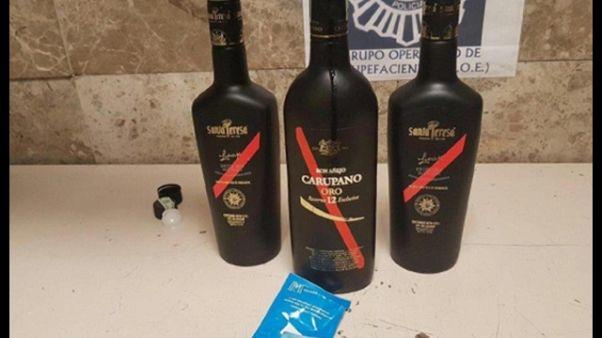 Cocaina nel rum, smantellato traffico