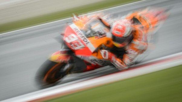 Moto: Marquez en pole pour 2/1000e de seconde au GP d'Autriche