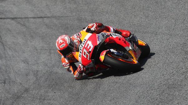 Marquez pips Dovizioso to claim Austrian GP pole