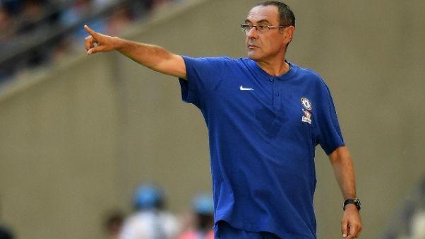 Premier:Chelsea di Sarri vince a debutto