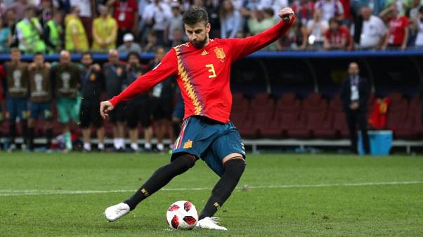 Pique welcomes Barca's one-off Super Cup duel with Sevilla