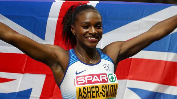 Asher-Smith completes European double, downs Schippers