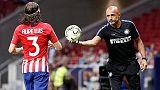 Amichevoli, Atletico Madrid-Inter 0-1