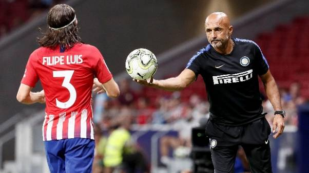 Amichevoli, Atletico Madrid-Inter 0-1