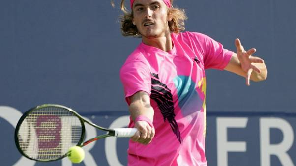Tsitsipas upsets Anderson in thriller to reach Toronto final