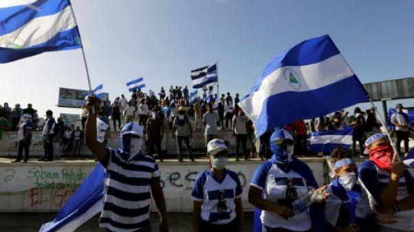 Nicaragua: des milliers de manifestants réclament la libération des prisonniers