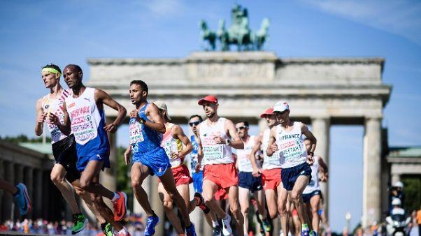 Europei atletica: Rachik bronzo maratona
