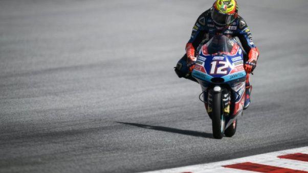 Moto3: Bezzecchi remporte le GP d'Autriche et accroît son avance en tête du championnat