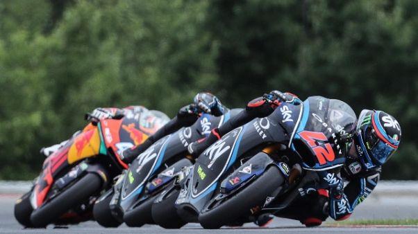 Gp Austria: Bagnaia vince in Moto2