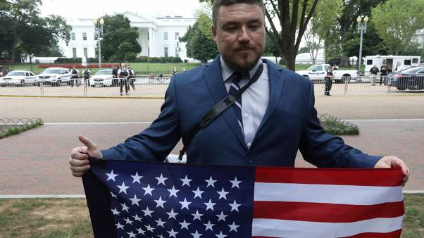 Washington white nationalist rally sputters in sea of counterprotesters