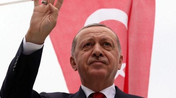أردوغان: تركيا مستعدة لإقامة مزيد من المناطق الآمنة في سوريا