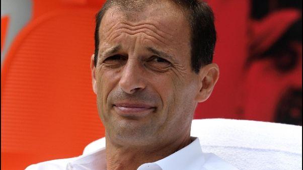 Juve: Allegri, ambizione Champions alta